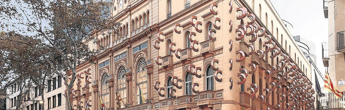 The facades of the Liceu …. what else? Artistic interventions in listed buildings