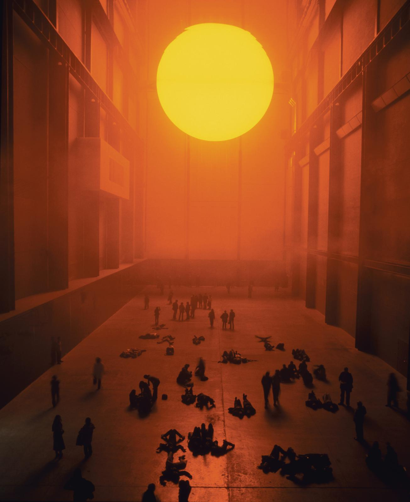 The Weather Project. Olafur Eliasson. Tate Gallery 2003-2004