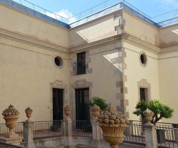 Palau de la Virreina-Restauració paraments